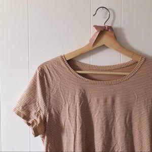 Lululemon striped t-shirt